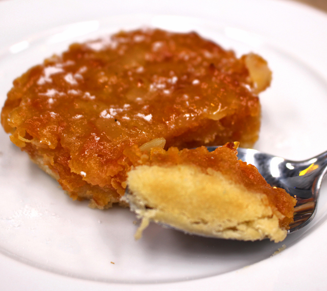 Toucinho do Céu dos Gajos, que leva adição de abóbora ao tradicional trio de ingredientes, ovos, açúcar e amêndoas (R$ 15)