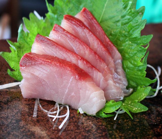 Sashimi de Olho-de-boi
