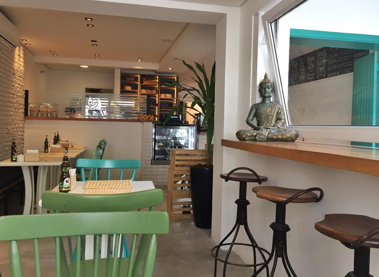 Ambiente da nova Grão Fino, no Itaim